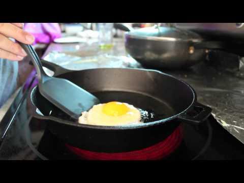 Crispy Fried Egg Over Easy