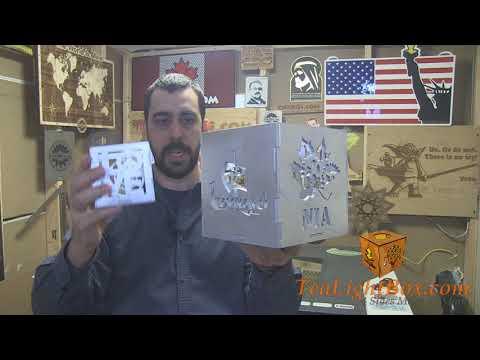 Custom Mega-Sized Tea Light Box