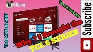 TCL 6 Series Review // The NEW $1000 Best TV! [2018] | Music Jinni