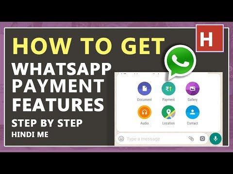how to enable whatsapp payment feature in hindi step by step