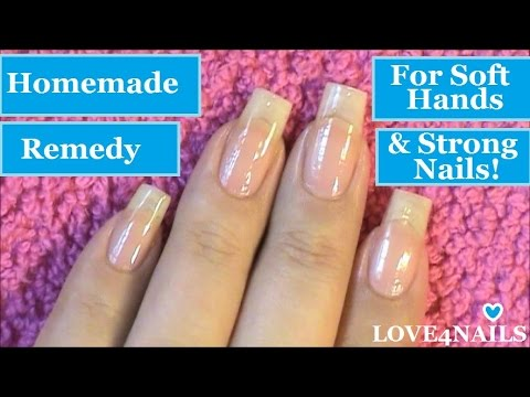 Hand Remedy For Soft Hands & Strong Nails!