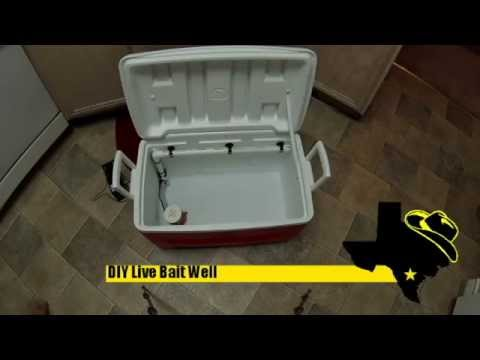 DIY Cooler Live Well
