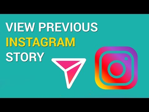 How to view previous story on Instagram (iOS)