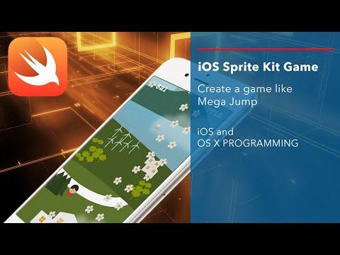 iOS Swift Game Tutorial: Create a game like Mega Jump