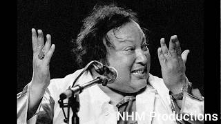 Tere Bin Nahi Lagda Dil Mera Dholna || Ustad Nusrat Fateh Ali Khan || Full || NHM Productions