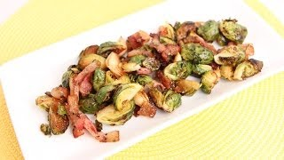Bacon Roasted Brussels Sprouts Recipe Laura Vitale Laura In The Kitch