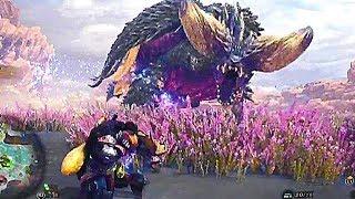 Monster Hunter World - Single Player Demo Nergigante Boss Fight & Character Creation