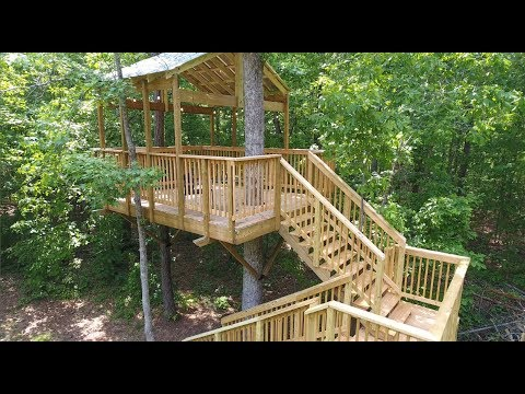 Treehouse Building Series - #2 Tips and Tricks