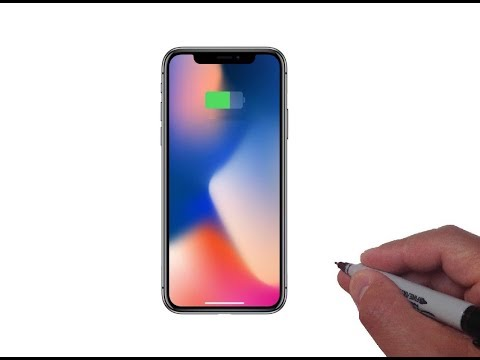 How to Draw the iPhone X