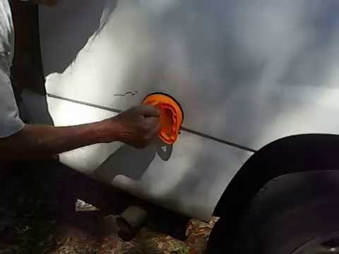Harbor Freight $3 Suction Cup Dent Puller tried to kick my @ss ! !