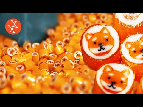 Making an Akita Dog with Handmade Candy   Où se trouve: CandyLabs