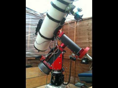 Homemade telescope GEM mount GOTO slew