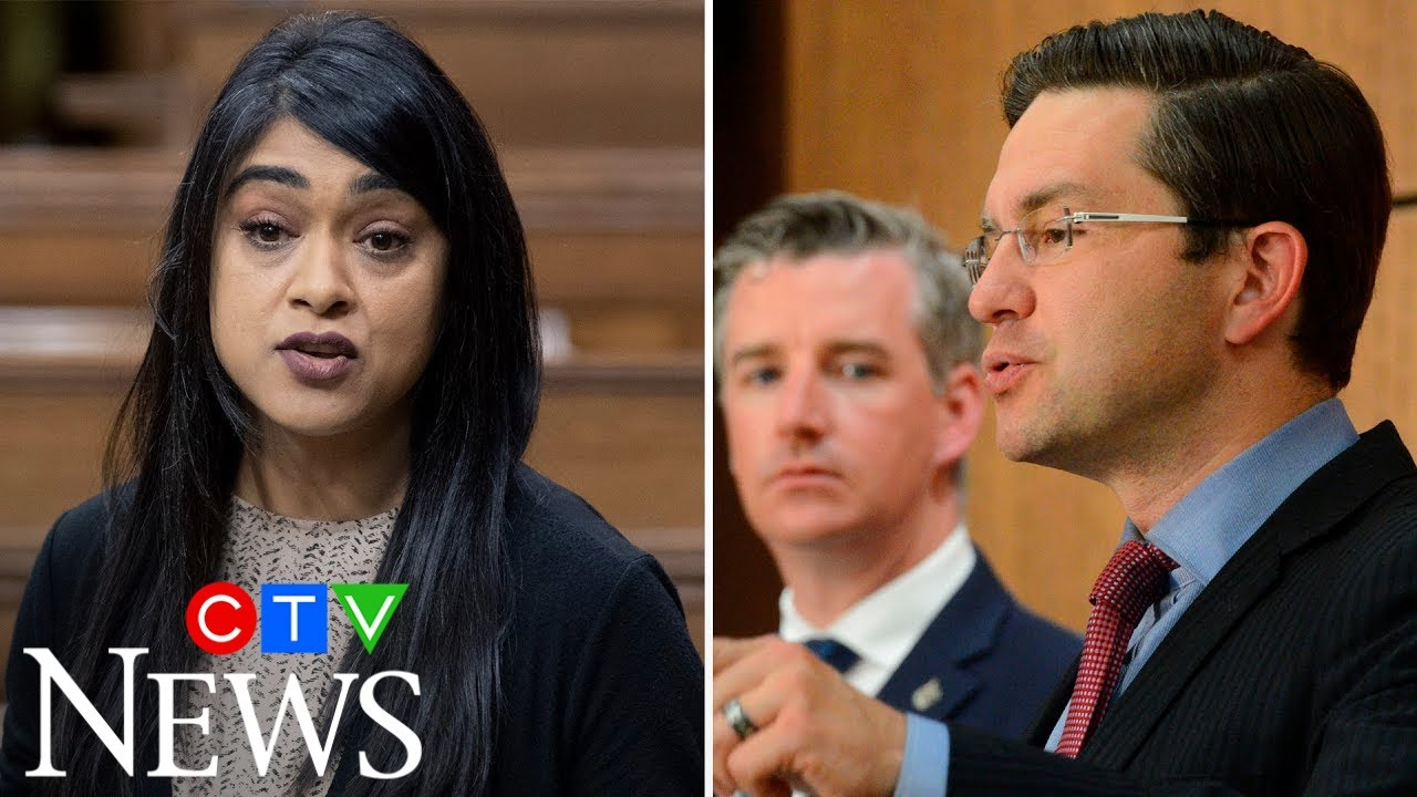 Poilievre squares off with Chagger in tense exchange over WE Charity scandal engulfing Trudeau