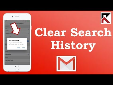 How To Clear Search History Gmail iPhone