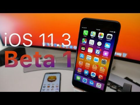 iOS 11.3 Beta 1 - What's New? (4K60P)