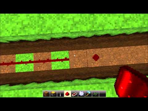 Minecraft 1.2.5 Tutorial : Automatic Wheat Farm *Easy*