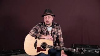 The acoustic blues guitar players Secret Weapon, (Double Stops)
