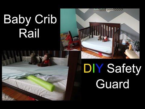 Baby Crib Rail - DIY Safety Guard