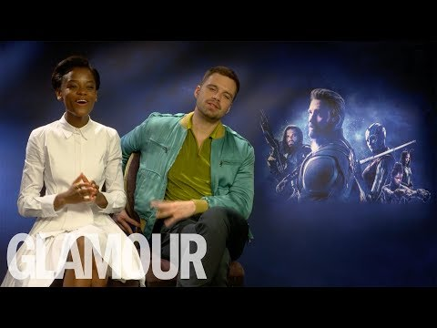 Letitia Wright On Her Friendship With Sebastian Stan & Her Beauty Mantras | GLAMOUR UK