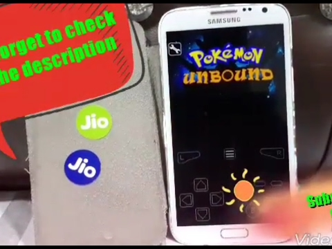 How to download pokemon unbound GBA on android