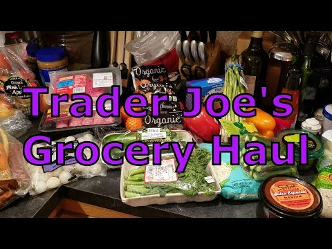 Trader Joe's & Whole Foods Grocery Haul 3 11 18