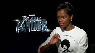 BLACK PANTHER Leticia Wright Shares Advice Angela Bassett Gave Her