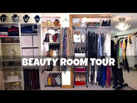 BEAUTY ROOM & CLOSET TOUR | Organizing Ideas | Update