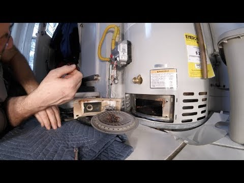 How to clean your Gas Hot Water Heater Filter