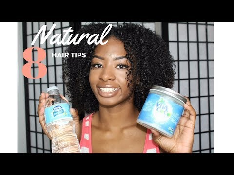 HOW TO MAKE YOUR NATURAL HAIR GROW!! l Tips for fuller, longer, and healthier hair