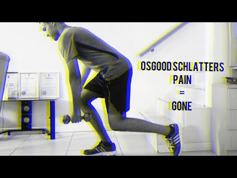 How I overcame my Osgood-Schlatters Pain