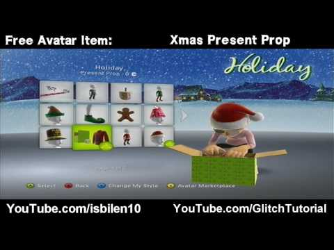 Xbox LIVE - FREE Avatar Item - Christmas Holiday Present