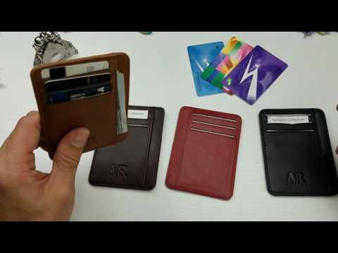 Premium Leather Front Pocket Wallet by Artino Collection Review