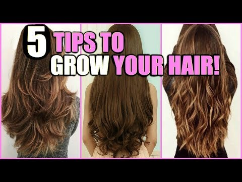5 TIPS TO GROW YOUR HAIR LONG FAST! │ HOW I GREW MY HAIR HEALTHY, FASTER, AND LONGER EASY DIY'S!!