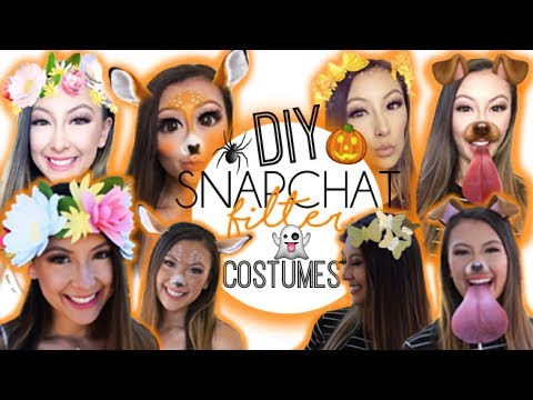 DIY: Snapchat Filter Costumes!