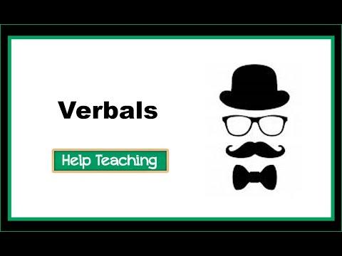 Grammar Lesson: Verbals
