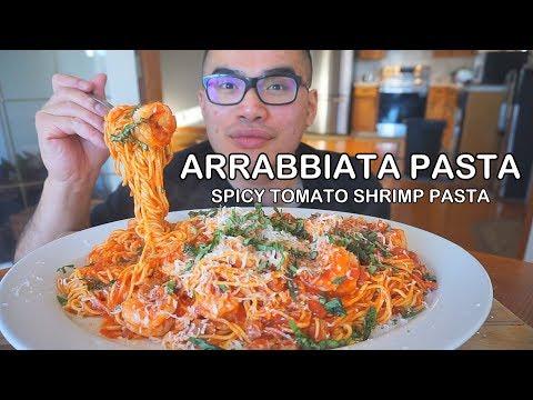 How to make SPICY SHRIMP PASTA -  ARRABBIATA