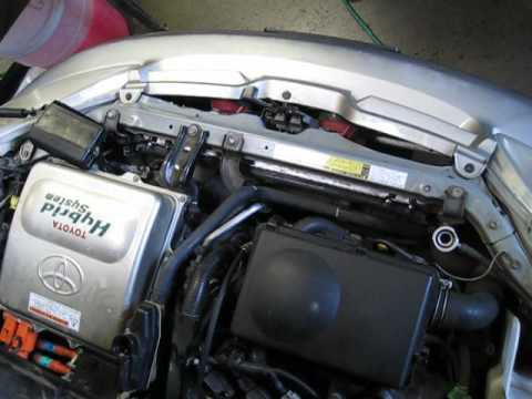 Gen 1 Prius Cooling Systems vacuum filled using AirLift II