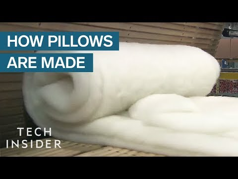 How Pillows Are Made