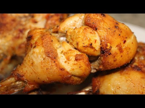 🍗The Moistest Chicken Drumstick In the Oven| Very Juicy & Tender