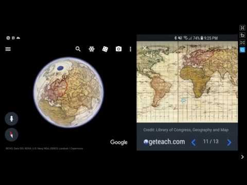 Historic Maps - Google Earth for Web