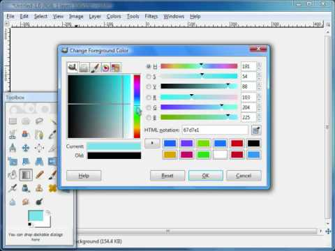 How to make your own Watermark using GIMP 2.6