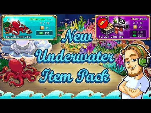 Pewdiepie's Tuber Simulator - New Underwater Items Pack! [Ends April 16th]