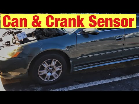 How to Replace the Cam and Crank Sensors on a 2002-2006 Nissan Altima with a 2.5 L Engine