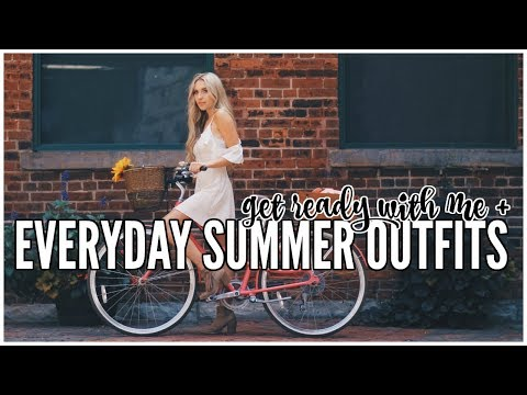 Everyday Summer Makeup Routine + Outfits