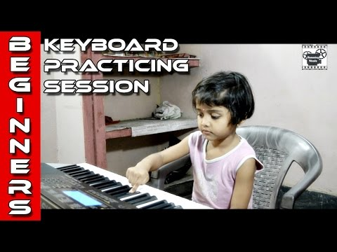 Children Keyboard Practicing Session at Humming Woods,Part-1