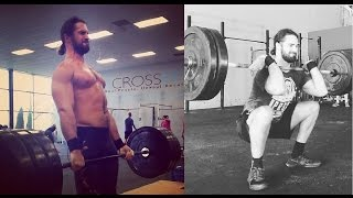 Seth Rollins training CrossFit 2017