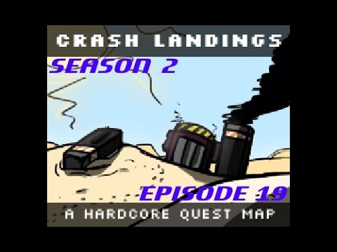 Minecraft [HQM] Crash Landing S2E19 - Seared Brick to Infinity