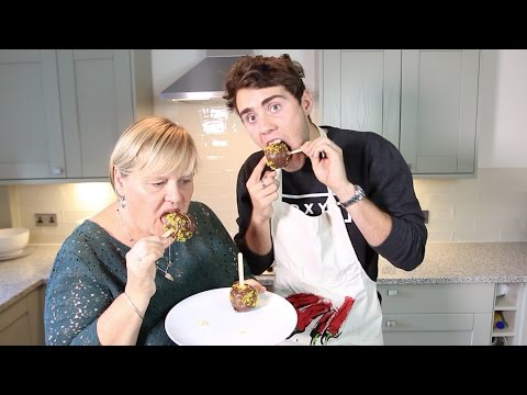 #ad | HOW TO: Toffee Apples with PointlessBlog & His Mum!