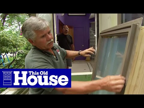 How to Replace a Door With a Window - This Old House