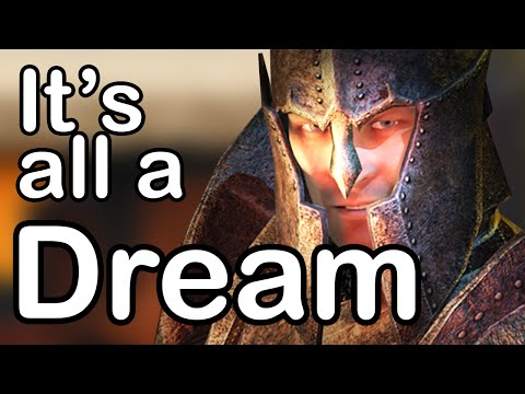 The Elder Scrolls takes place in a dream